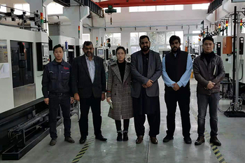 Tianzhijiao Warmly Welcomes Pakistan customers' Visit